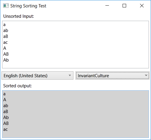 .NET string comparison is not lexicographical