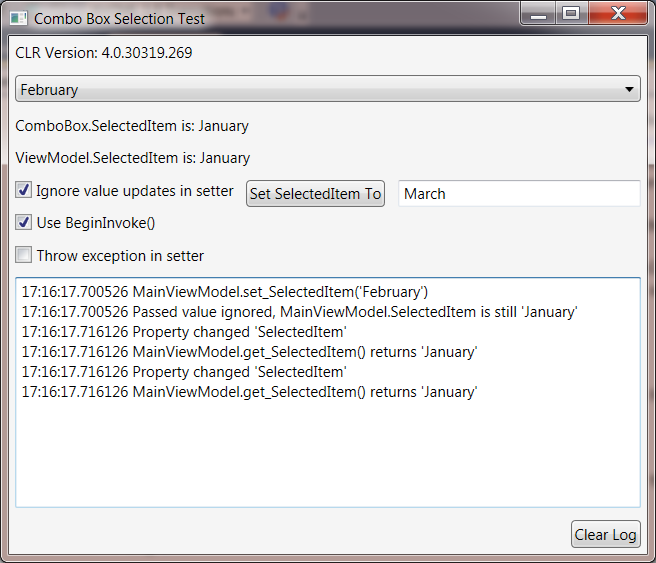 The Perils of Canceling WPF ComboBox Selection